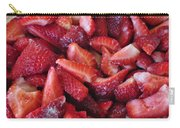 Sliced Strawberries Carry-all Pouch