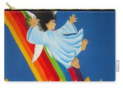 Sliding Down Rainbow Carry-all Pouch
