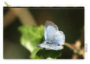 Small Blue Butterfly Carry-all Pouch