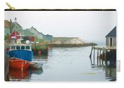 Boats In Peggy's Cove Carry-all Pouch