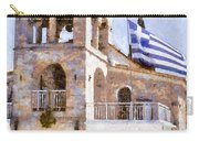 Small Greek Church Carry-all Pouch