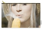 Smoking Hot Corn Cob Woman Carry-all Pouch
