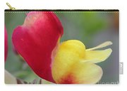 Snapdragon Named Floral Showers Red And Yellow Bicolour Carry-all Pouch