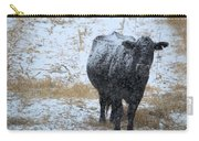 Snow Angus Carry-all Pouch