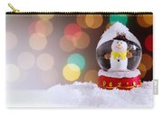 Snow Globe Carry-all Pouch