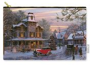 Snow Streets Carry-all Pouch by Dominic Davison