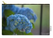 Soft Blue Hydrangea Carry-all Pouch