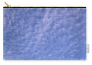 Soft Clouds In The Blue Sky Carry-all Pouch