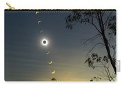 Solar Eclipse Composite, Queensland Carry-all Pouch