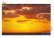 Spectacular Dramatic Orange Sunset Over The Ocean Carry-all Pouch