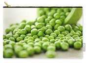 Spilled Bowl Of Green Peas Carry-all Pouch