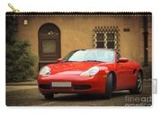 Sport Car In The Old Town Scenery Carry-all Pouch