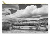 Spring Farm Landscape With Dandelions In Maine Carry-all Pouch