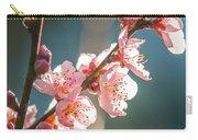 Spring Peach Tree Blossom Carry-all Pouch