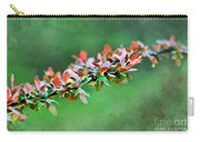 Spring Raindrops On Leaves - Digital Paint Carry-all Pouch