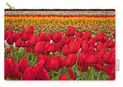 Springtime Tulip Field Art Prints Carry-all Pouch