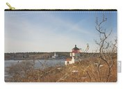 Squirrel Point Lighthouse Kennebec River Maine Carry-all Pouch