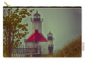 St. Joseph North Pier Lighthouse Lake Michigan. Carry-all Pouch