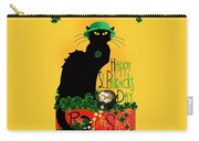 St Patrick's Day - Le Chat Noir Carry-all Pouch