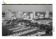 St Petersburg Skyline And Yacht Basin Marina Carry-all Pouch