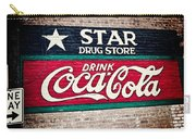 Star Drug Store Wall Sign Carry-all Pouch