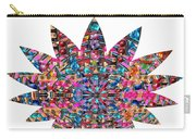 Star Ufo U.f.o. Sprinkled Crystal Stone Graphic Decorations Navinjoshi  Rights Managed Images Graphi Carry-all Pouch