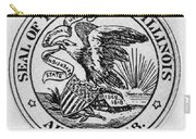 State Seal Illinois Carry-all Pouch