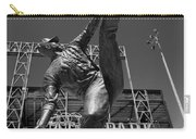 Statue Of Juan Marichal Outside Atandt Park San Francisco Carry-all Pouch