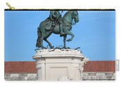 Statue Of King Jose I In Lisbon Carry-all Pouch
