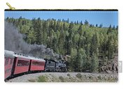 Steam Engine 488 At Osier On The Cumbres And Toltec Scenic Railroad Carry-all Pouch