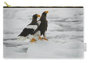 Stellers Sea Eagles Carry-all Pouch