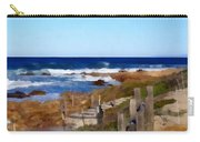 Steps To The Sea Carry-all Pouch by Barbara Snyder