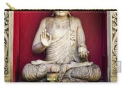 Stone Statue Of Buddha In Bali Indonesia Carry-all Pouch