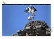 Storks On Top Of Valdecorneja Castle Carry-all Pouch