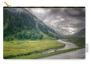 storm clouds over mountains of ladakh Jammu and Kashmir India Carry-all Pouch