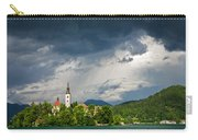 Storm Light Over Lake Bled Carry-all Pouch