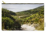 Strahan Coast Landscape Winding To The Ocean Carry-all Pouch