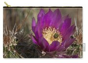 Strawberry Hedgehog Flower Carry-all Pouch