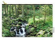 Stream Flowing Through A Forest, Usa Carry-all Pouch