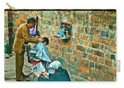 Streetside Barbershop In Hanoi-vietnam  Carry-all Pouch