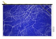 Stuttgart Street Map - Stuttgart Germany Road Map Art On Colored Carry-all Pouch