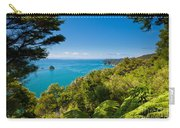 Subtropical Forest Of Abel Tasman Np In New Zealand Carry-all Pouch