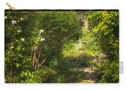 Summer Garden And Path Carry-all Pouch by Elena Elisseeva