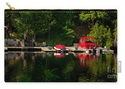 Summer Morning On Muskoka River Carry-all Pouch