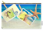 Summer Postcards Carry-all Pouch by Amanda Elwell