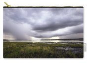 Summer Storm Over The Lake Carry-all Pouch