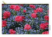 Sun-drenched Flowerbed Carry-all Pouch