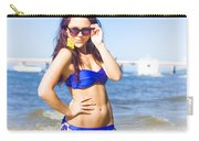 Sun Sand And Sea Leisure Carry-all Pouch
