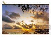 Sun Sand Sea And Rocks Carry-all Pouch