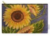 Sunflower Burst 1 Carry-all Pouch